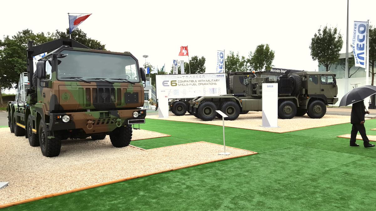 Nemška in Romunska vojska z novimi tovornjaki IVECO DV