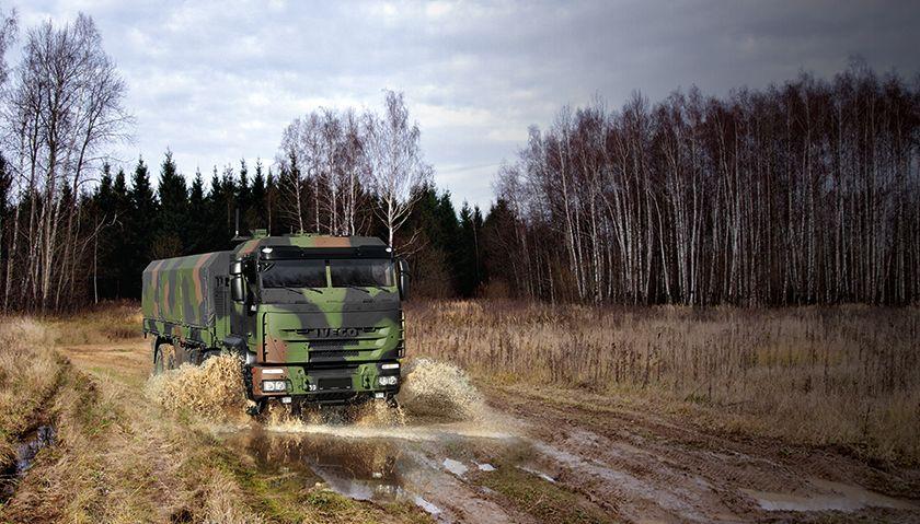 IVECO DV nemški vojski dobavil stoto vozilo TRAKKER GTF 8X8